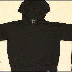 Forever 21 basic black hoodie